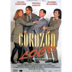 Corazon loco Poster Movie Spanish (27 x 40 Inches   69cm x