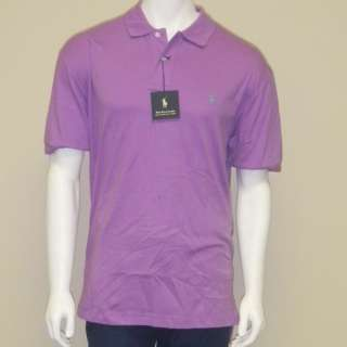 NWT MENS POLO RALPH LAUREN POLO STYLE SHIRT XL SHIRTS MEN POLOS PURPLE