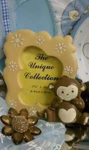 BABY SHOWER 1ST BIRTHDAY PARTY JUNGLE SAFARI MONKEY FRAME PARTY FAVOR