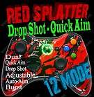 MW3 12 Mode RAPID FIRE Modded Xbox 360 Controller Stealth DROP SHOT