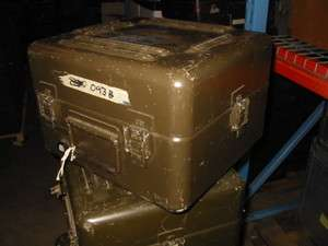 Drawn Aluminum Military Case 16x15x10 Weathertight Dry Box Oliv