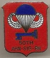 50th AIRBORNE SIGNAL BATTALION   DUI