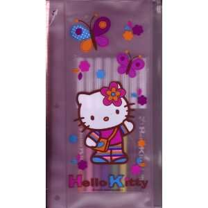 Hello Kitty Pencil Case with 8 Water Colored Markers