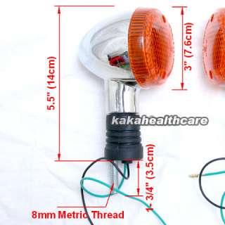 Honda VTX 1300 1800 R S C N Chrome Turn Signal Light