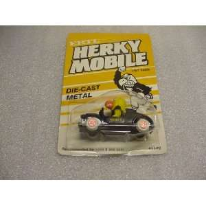 Ertl HERKY MOBILE 1/64 Scale Die Cast Metal University Of