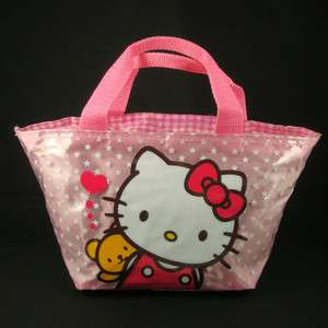 Hello Kitty Tote Lunch box bag Handbag sac HBKT BX