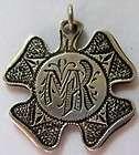 Antique Victorian 835 Silver Gold Vermeil LOVE KNOT Token Nouveau