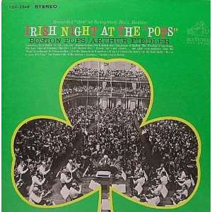 Irish Night at The Pops Arthur Fiedler Boston Pops Music