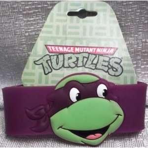 TEENAGE MUTANT NINJA TURTLES TMNT Donatello Purple WRISTBAND Bracelet