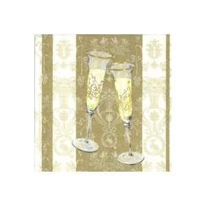 Sparkle and Fizz Gold Gues owels Home & Kichen