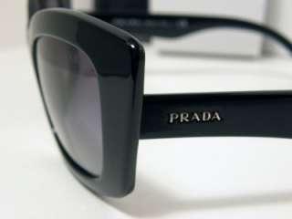 New Authentic Prada Sunglasses PR 19MS 1AB 3M1 PR19MS Made In Italy