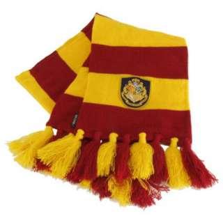 Harry Potter Hogwarts School Colors & Logo Crest Scarf, NEW UNWORN