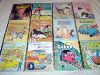 HUGE LOT 144 LITTLE GOLDEN BOOKS DISNEY SESAME STREET SCARRY STORIES