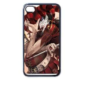 joker card 4/4s Seamless Case (Black): Electronics