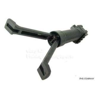 Polymer Tactical Picatinny Side Rail Grip builtin Bipod