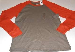 GAP Mens Brown & Orange Ribbed Jersey T Shirt Sizes L XL