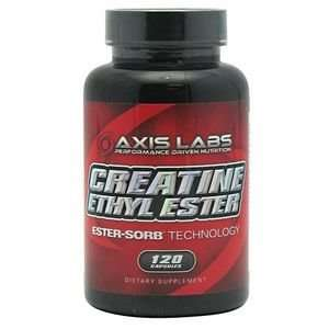 Axis Labs Creatine Ethyl Ester 120 Capsules Health