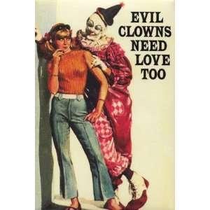 Evil Clowns , 2x3: Home & Kitchen