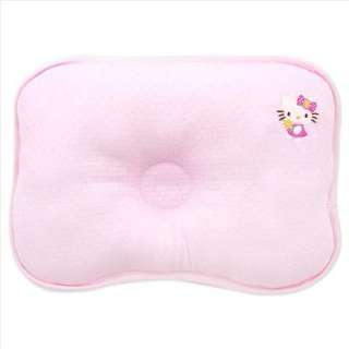 Hello Kitty Print Baby Pillow Pink Sanrio