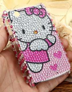 Hello Kitty Bling Back Case Fits Blackberry curve 8530 8520