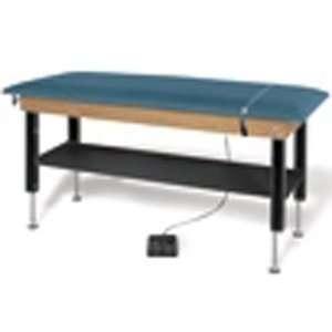 Hi Lo Power Plinth Table, color navy black, Length Width