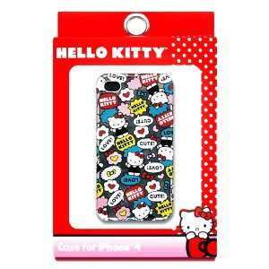 HELLO KITTY COMIC BOOK PRINT IPHONE 4G CASE