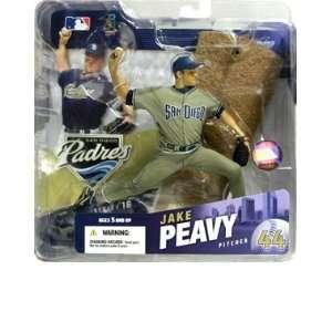 Jake Peavy Rare San Diego Padres Gray Jersey Variant McFarlane MLB