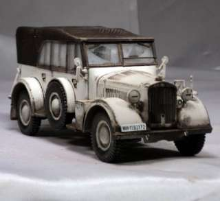 35 German Horch Kfz 15 Standard Personel Staff Car Winter