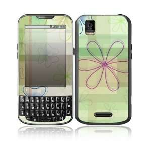 Line Flower Design Decorative Skin Cover Decal Sticker for