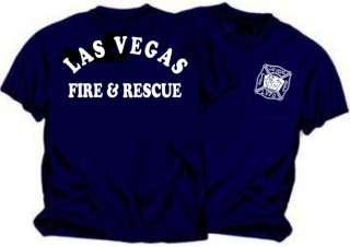 Las Vegas Fire Department Duty T Shirt   New Design
