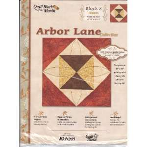Joann Quilt Block Of The Month Arbor Lane Collection 6