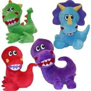 Vo Toys Jumbo Jurassics 7in Dog Toy Assorted Styles Pet