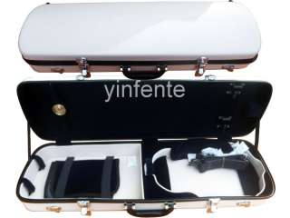 Full Size 4/4 New Violin Case Glass Fiber High quality Light Strong
