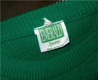 Saint St. Patricks Day Ireland Irish Shamrock Fisherman Knit Sweater