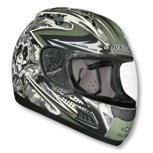 Vega DOT Vented Lock n Load Altura Full Face Motorcycle