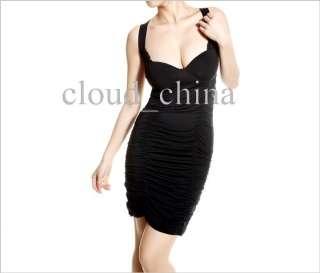 Women Sexy Lace Backless Strap Cocktail Club Mini Dress