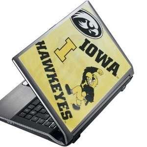 NCAA Iowa Hawkeyes 8 x 10 Peel & Stick Laptop Art