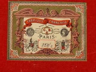 42 PC MINIATURE LEAD TOY BOXED SET C.B.G. MIGNOT PARIS FRANCE #85g/e
