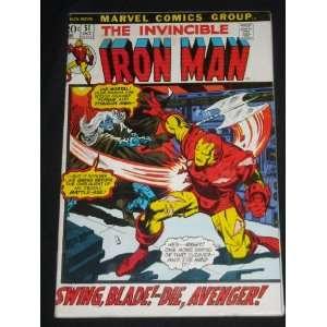 INVINCIBLE IRON MAN VOLUME ONE #51 BRONZE AGE MARVEL COMIC