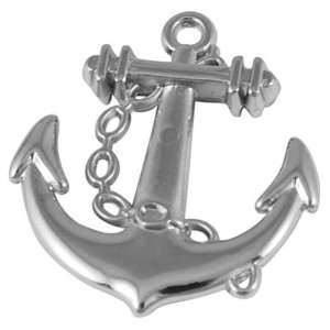 DIY Jewelry Making 12x CCB Acrylic Pendants, Anchor