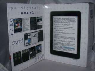 PanDigital Novel Wiki Reader, 3.5in Wh