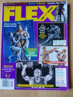 FLEX bodybuilding muscle mag/BERRY DEMEY/Latia 9 94