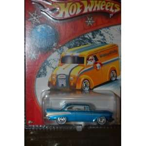 HOT WHEELS LIMITED EDITION HOLIDAY RODS GOLD 57 CHEVY BEL AIR #3 OF 5