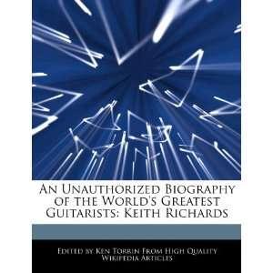 Greatest Guitarists Keith Richards (9781276177948) Ken Torrin Books