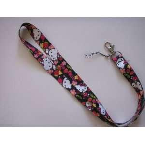 Hello Kitty Lanyard ~Key ID Badge Cell Phone Holder~