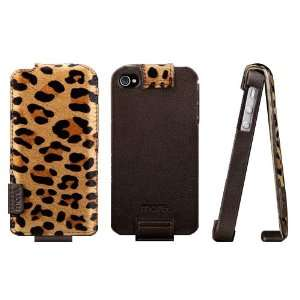more. Safara Classic Fx Leather Flip top Case for iPhone 4