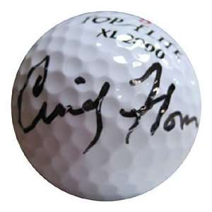 Cindy Flom Autographed / Signed Golf Ball