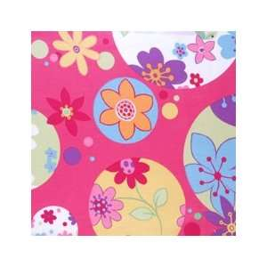 Floral   Large Pink by Duralee Fabric Arts, Crafts