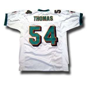 Zack Thomas #54 Miami Dolphins Authentic NFL Player Jersey