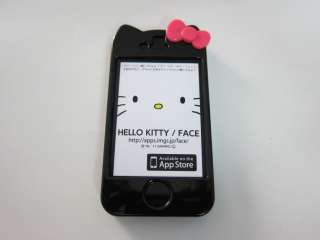 Hello Kitty Hard Case Cover Skin for iPhone 4 4S+Free Screen Protector